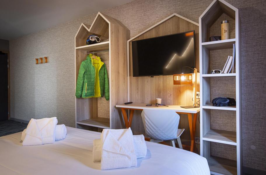 Wakacje w górach Pokój 2 osób (CORDEE) - Hôtel Base Camp Lodge - Les Arcs - Łóżkem małżeńskim