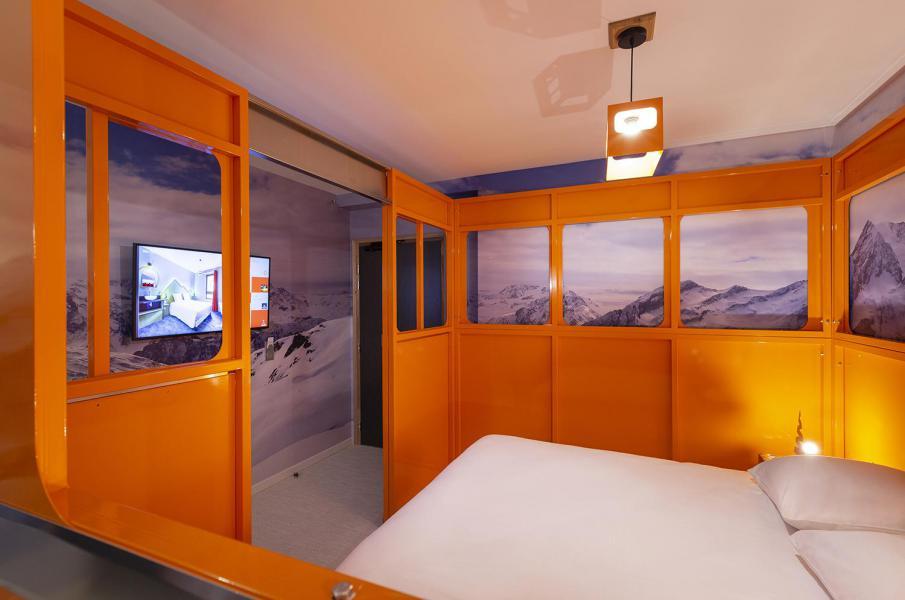 Wakacje w górach Pokój 2 osób (TELEPHERIQUE) - Hôtel Base Camp Lodge - Les Arcs - Łóżkem małżeńskim