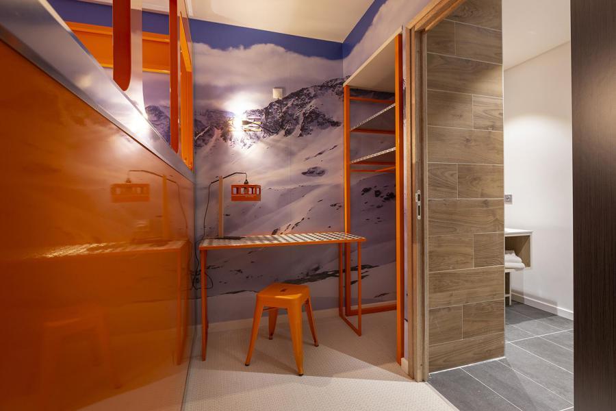 Wakacje w górach Pokój 2 osób (TELEPHERIQUE) - Hôtel Base Camp Lodge - Les Arcs - Pokój