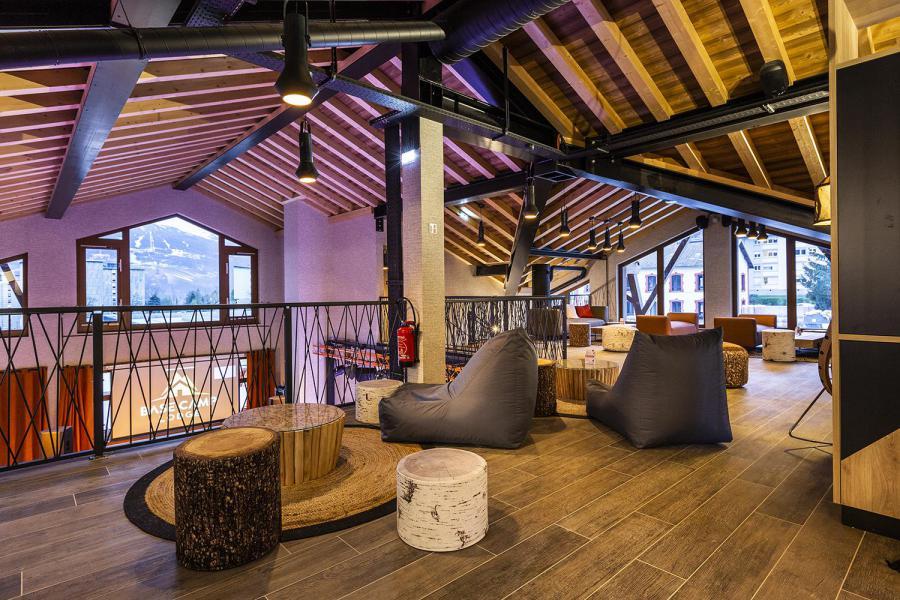 Vacaciones en montaña Hôtel Base Camp Lodge - Les Arcs
