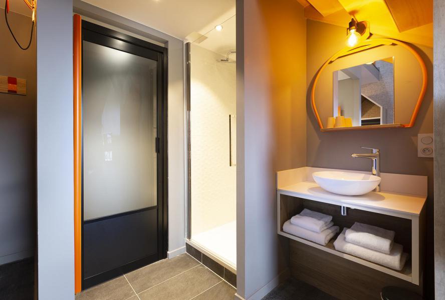 Vacaciones en montaña Suite 1-2 personas (ISERAN) - Hôtel Base Camp Lodge - Les Arcs - Cuarto de baño con ducha