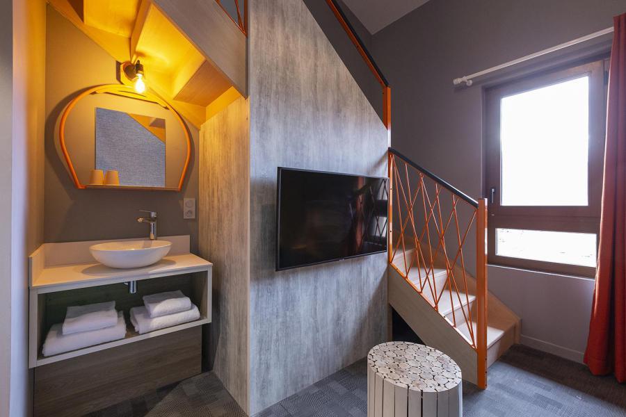 Wakacje w górach Suite dla 2-2 osób (ISERAN) - Hôtel Base Camp Lodge - Les Arcs - Pokój gościnny