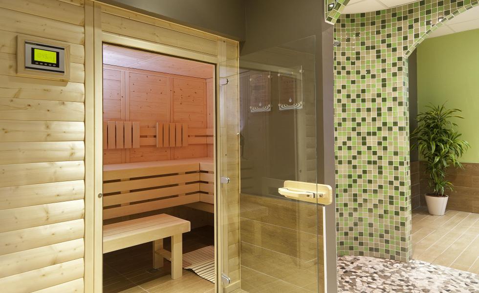 Vakantie in de bergen Hôtel Club MMV Altitude - Les Arcs - Sauna