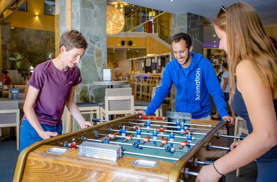 Vacances en montagne Hôtel Club MMV les Brévières - Tignes - Jeux