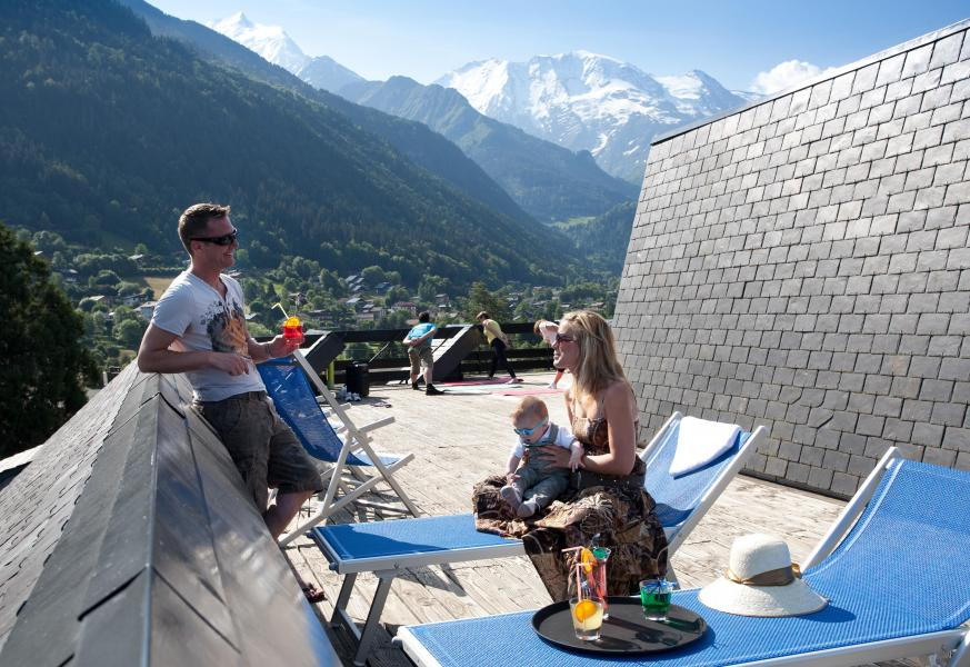 Vacances en montagne Hôtel Club MMV Monte Bianco - Saint Gervais - Extérieur été