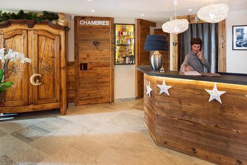 Urlaub in den Bergen Hôtel des 3 Vallées - Val Thorens - Rezeption
