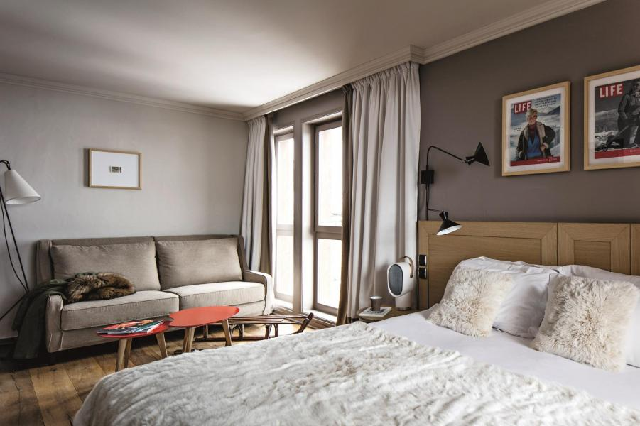 Holiday in mountain resort Hôtel des 3 Vallees - Courchevel - Double bed