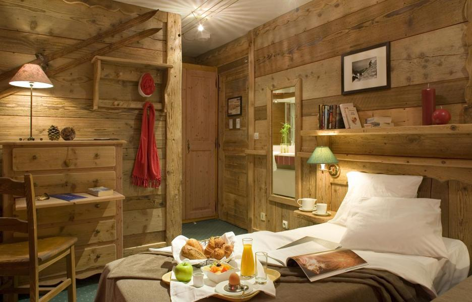 Holiday in mountain resort Double/Twin room (2 people) (Cocoon) - Hôtel des 3 Vallées - Val Thorens - Bedroom