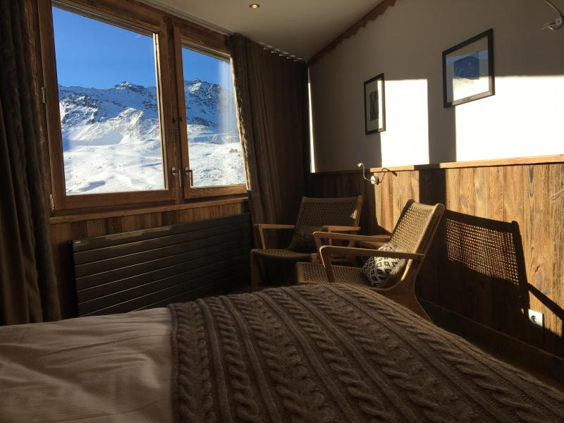 Holiday in mountain resort Double/Twin room (2 people) (Véranda Cocoon) - Hôtel des 3 Vallées - Val Thorens - Double bed