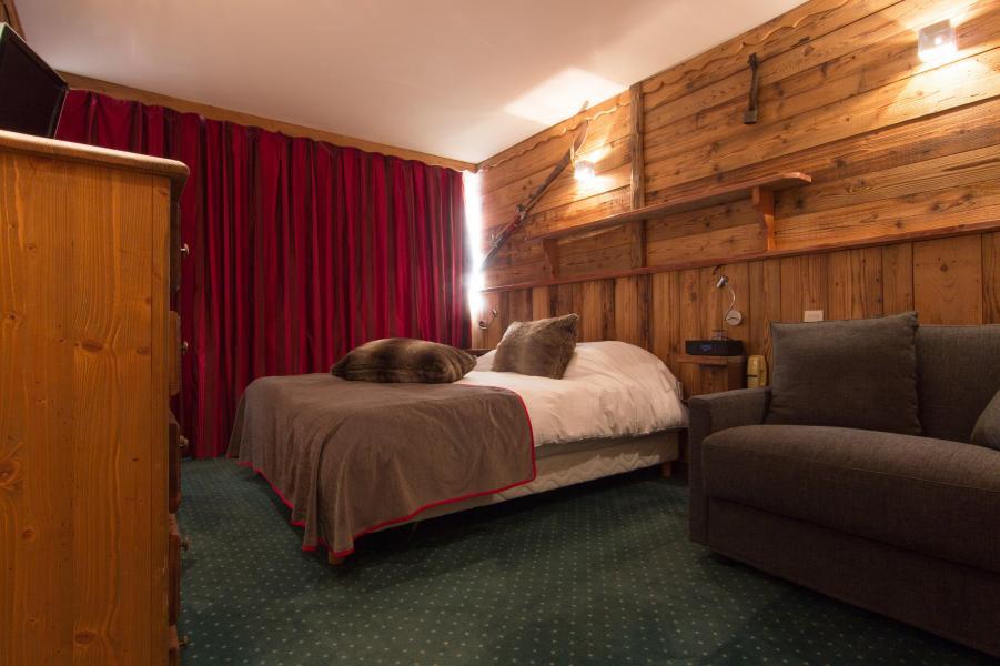 Urlaub in den Bergen Familienschlafzimmer (4 personen) - Hôtel des 3 Vallées - Val Thorens - Doppelbett