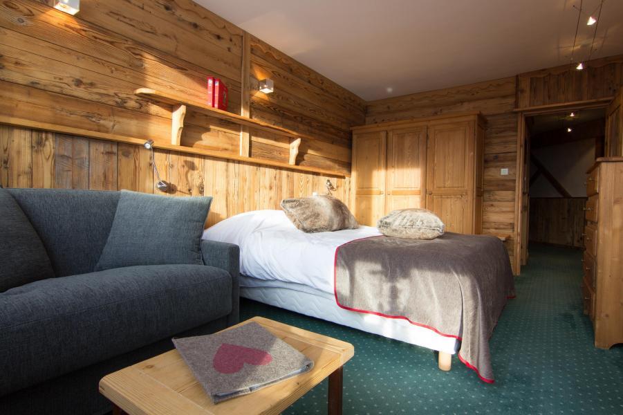Urlaub in den Bergen Familienschlafzimmer (4 personen) - Hôtel des 3 Vallées - Val Thorens - Sofa