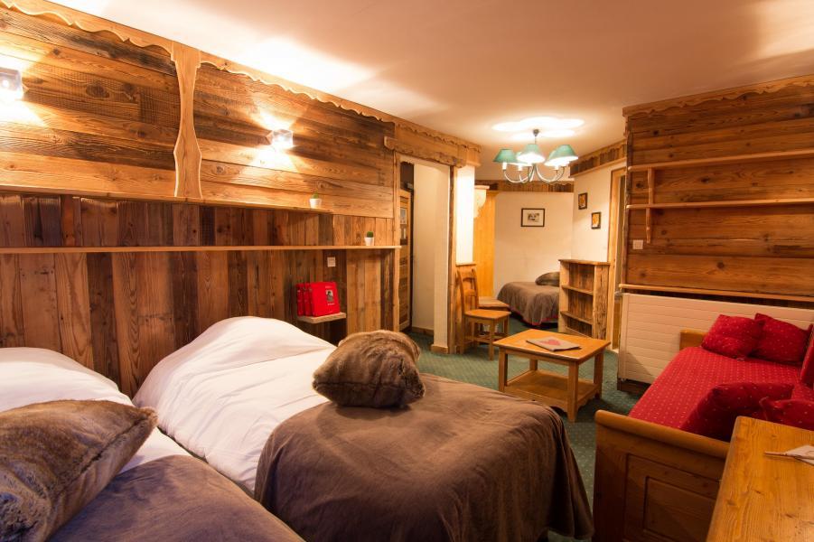 Urlaub in den Bergen Familienschlafzimmer (4 personen) - Hôtel des 3 Vallées - Val Thorens - Zwei Einzelbetten