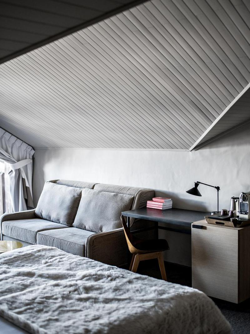 Holiday in mountain resort Privilege Room (2 adults + 1 child -16yo) - Hôtel des 3 Vallees - Courchevel - Bedroom