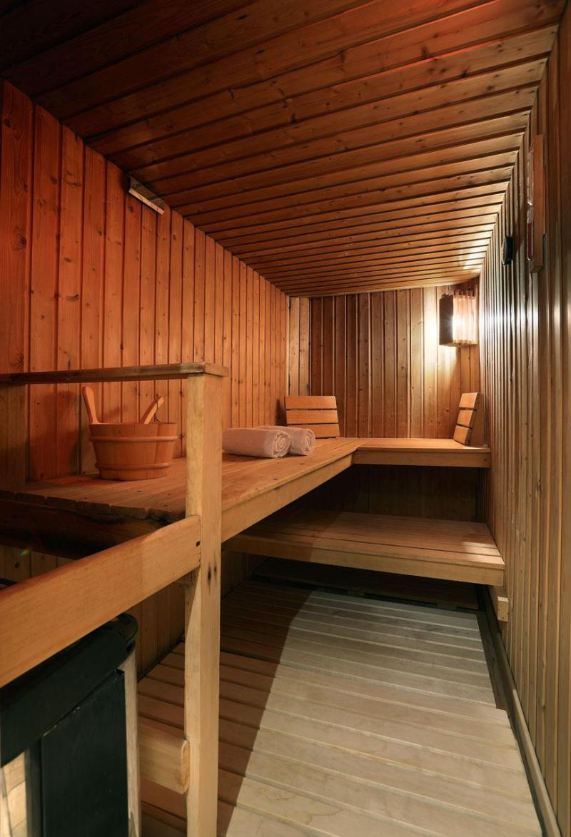 Urlaub in den Bergen Suite 208 (2 personen) - Hôtel des 3 Vallées - Val Thorens - Sauna