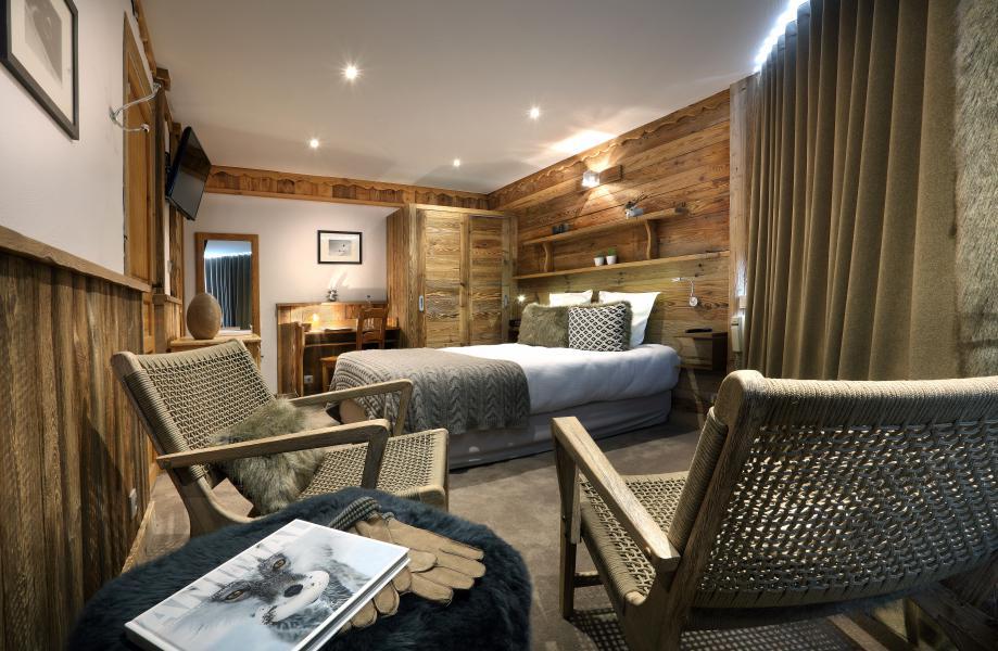 Urlaub in den Bergen Hôtel des 3 Vallées - Val Thorens - Schlafzimmer