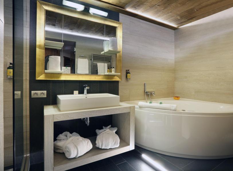 Urlaub in den Bergen Suite 208 (2 personen) - Hôtel des 3 Vallées - Val Thorens - Badezimmer