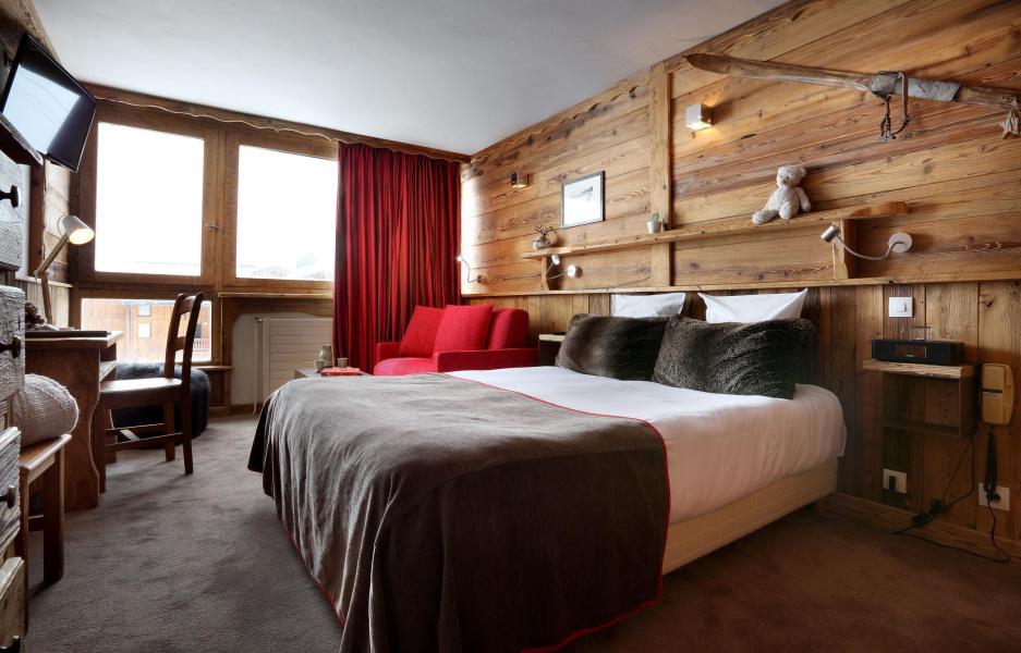Urlaub in den Bergen Suite 208 (2 personen) - Hôtel des 3 Vallées - Val Thorens - Doppelbett