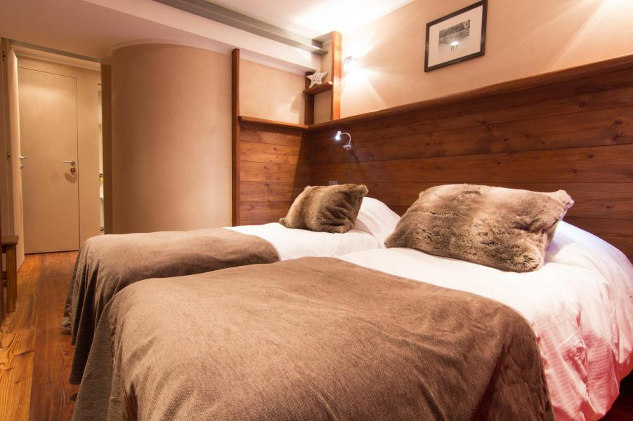 Holiday in mountain resort Suite 302 (2 people) - Hôtel des 3 Vallées - Val Thorens - Twin beds