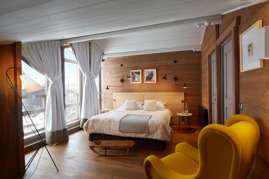 Holiday in mountain resort Suite 4 people (2 adults + 2 children -16yo) - Hôtel des 3 Vallees - Courchevel - Bedroom