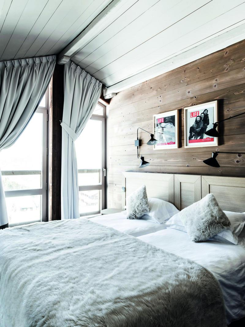 Holiday in mountain resort Suite 4 people (2 adults + 2 children -16yo) - Hôtel des 3 Vallees - Courchevel - Double bed