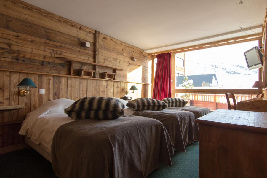 Holiday in mountain resort Triple room (3 people) (Cocoon) - Hôtel des 3 Vallées - Val Thorens - Double bed