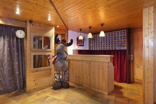 Vacances en montagne Hôtel du Bourg - Valmorel - Réception