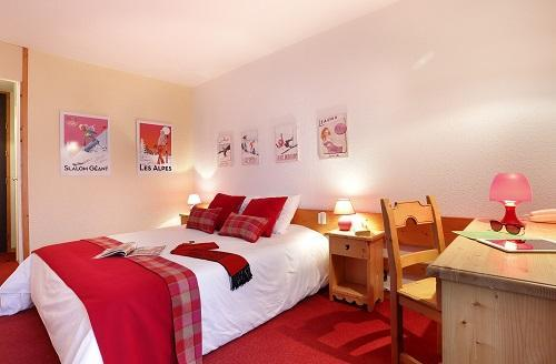 Vacances en montagne Chambre Confort (1 ou 2 personnes) - Hôtel du Bourg - Valmorel - Chambre