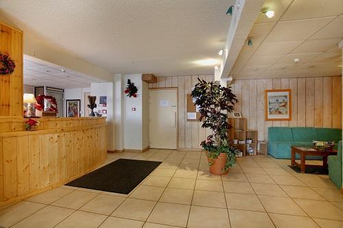 Holiday in mountain resort Hôtel Eliova le Chaix - Alpe d'Huez - Reception