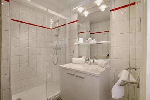 Urlaub in den Bergen Hôtel Eliova le Chaix - Alpe d'Huez - Badezimmer