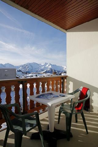 Holiday in mountain resort Hôtel Eliova le Chaix - Alpe d'Huez - Balcony