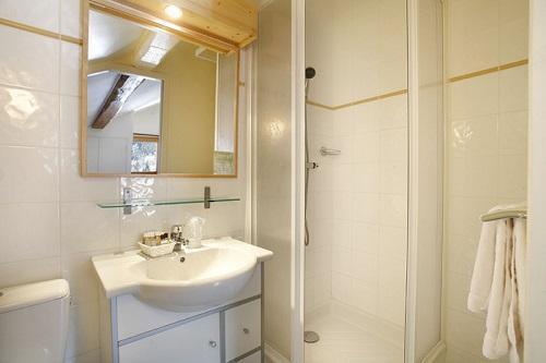 Holiday in mountain resort Hôtel Eliova le Génépi - Méribel - Shower