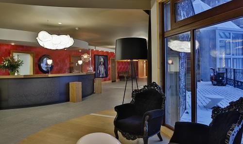 Urlaub in den Bergen Hôtel Koh I Nor - Val Thorens - Rezeption