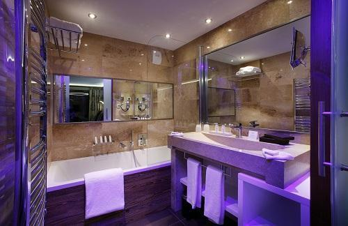 Urlaub in den Bergen Hôtel Koh I Nor - Val Thorens - Badezimmer