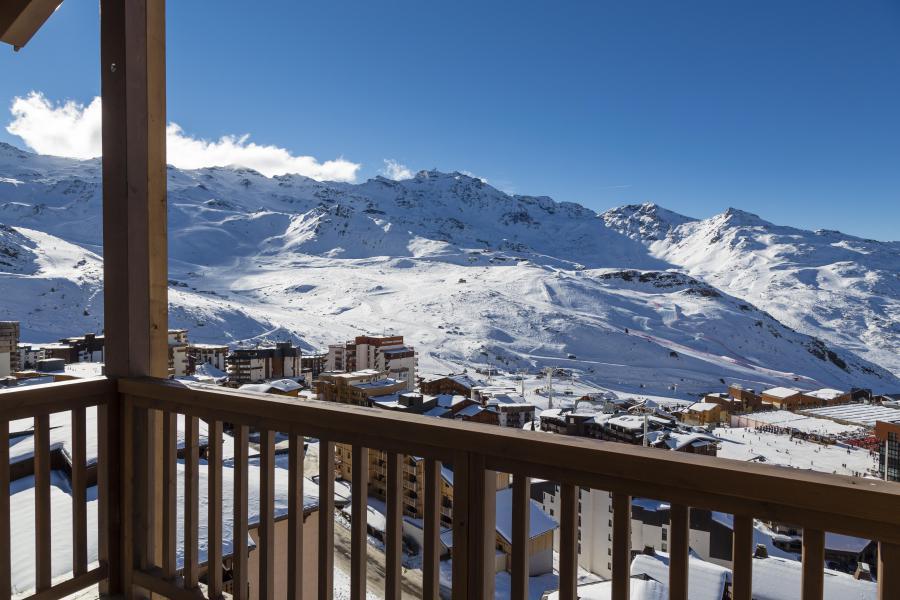 Urlaub in den Bergen Hôtel Koh I Nor - Val Thorens - Balkon