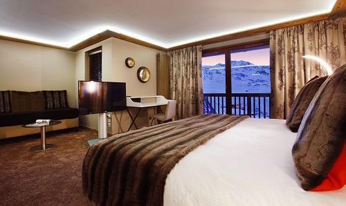 Urlaub in den Bergen Hôtel Koh I Nor - Val Thorens - Fonduegerät