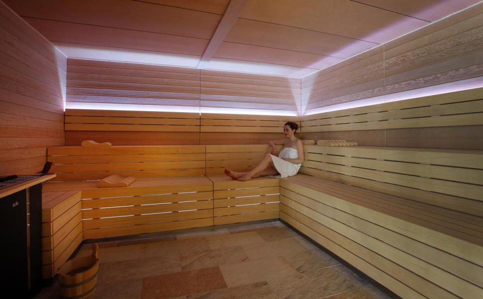 Urlaub in den Bergen Hôtel Koh I Nor - Val Thorens - Sauna