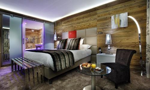 Urlaub in den Bergen Hôtel Koh I Nor - Val Thorens - Schlafzimmer