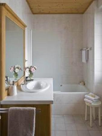 Urlaub in den Bergen Hôtel le Christiania - La Clusaz - Badezimmer