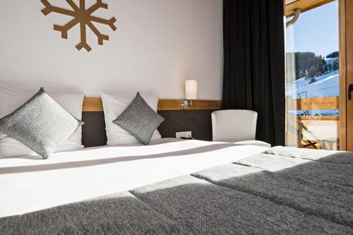Vakantie in de bergen Hôtel le Marmotel - Pra Loup - 2 persoons bed