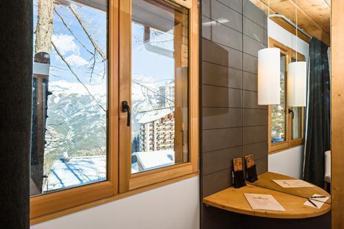 Urlaub in den Bergen Hôtel le Marmotel - Pra Loup - Fenster