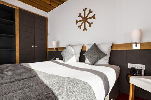 Vakantie in de bergen Hôtel le Marmotel - Pra Loup - Kamer