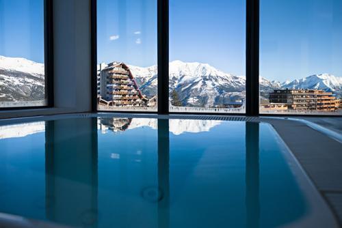 Urlaub in den Bergen Hôtel le Marmotel - Pra Loup - Whirlpool