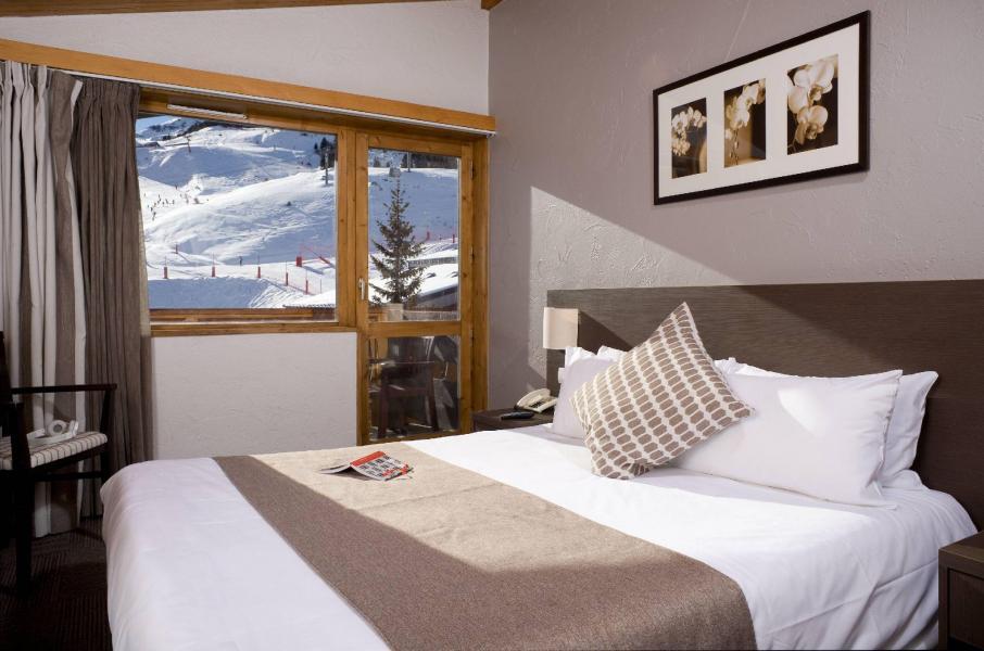 Vacances en montagne Hôtel le Mottaret - Méribel-Mottaret - Lit double