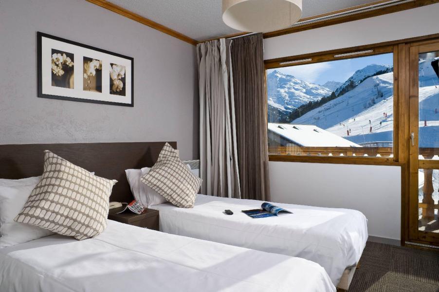 Vacances en montagne Hôtel le Mottaret - Méribel-Mottaret - Lits twin