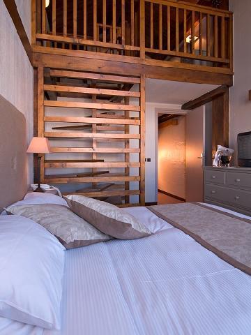 Urlaub in den Bergen Dreibettzimmer (3 personen) - Hôtel le New Solarium - Courchevel - Doppelbett