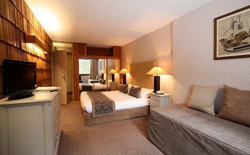 Urlaub in den Bergen Dreibettzimmer (3 personen) - Hôtel le New Solarium - Courchevel - Schlafzimmer