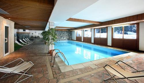 Urlaub in den Bergen Hôtel le New Solarium - Courchevel