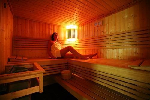 Urlaub in den Bergen Hôtel le New Solarium - Courchevel - Sauna