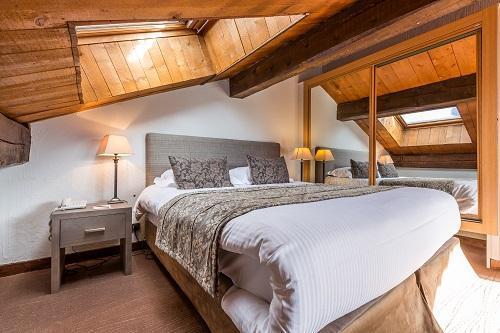 Urlaub in den Bergen Hôtel le New Solarium - Courchevel - Schlafzimmer