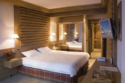Urlaub in den Bergen Hôtel le Ski d'Or - Tignes - Doppelbett